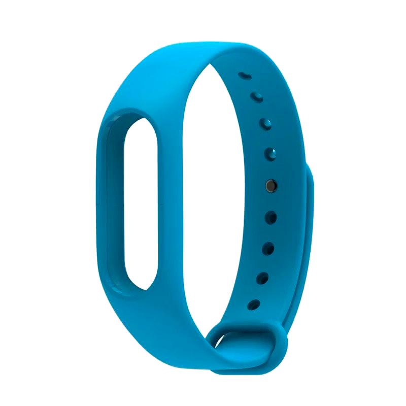 Силиконовый ремешок для Xiaomi Mi Band 2 Borasco синий