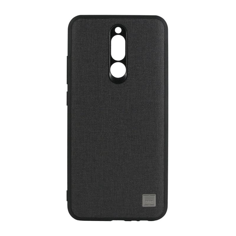 Uniq Glacier Luxe Kanvas для Xiaomi Redmi 8 (черный) uniq чехол крышка uniq topaz для samsung galaxy s8 plus пластик черный