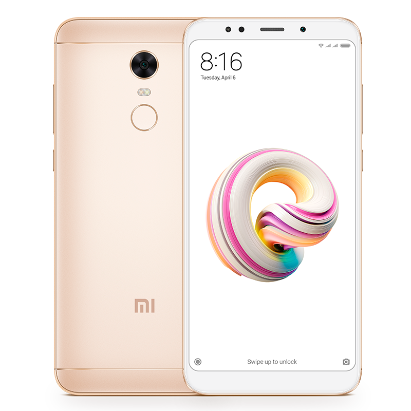 Redmi 5 Plus 3/32GB Gold смартфон xiaomi redmi 6a 2 32gb gold