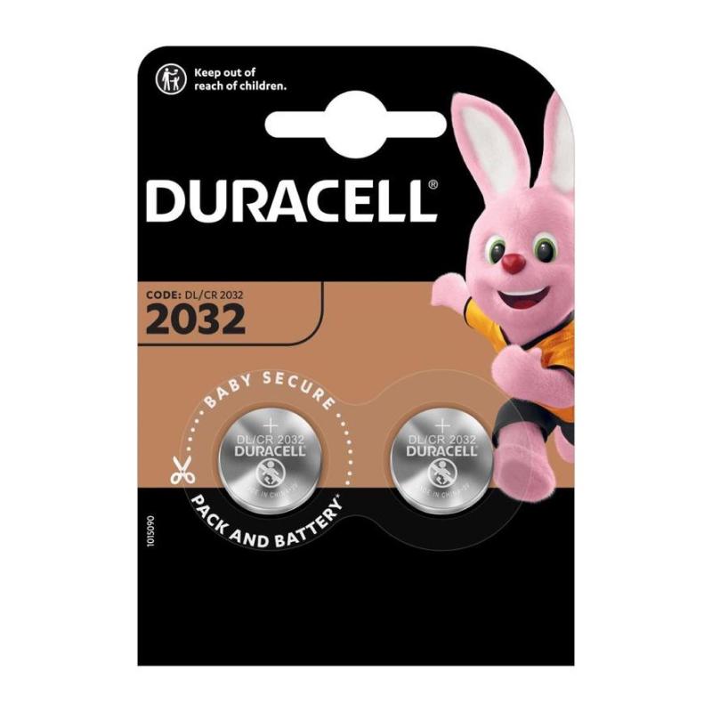 Duracell DL/CR2032-2BL 2шт фото