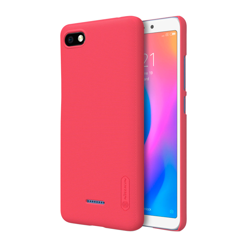 Защитный чехол Nillkin Super Frosted Shield для Xiaomi Redmi 6A Red смартфон xiaomi redmi 6a 2 32gb gold