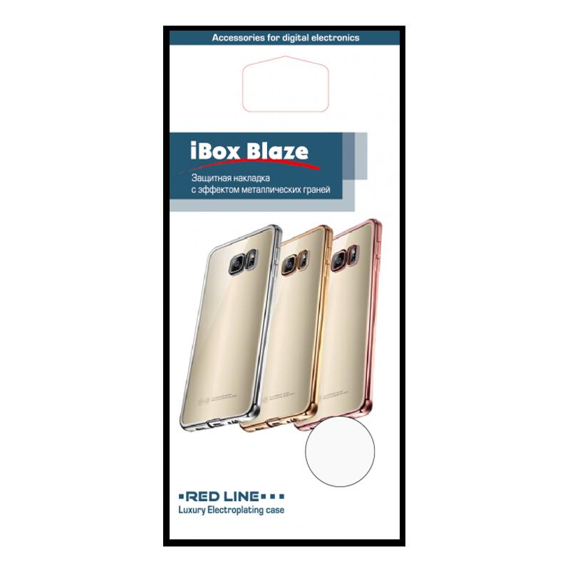 Накладка силикон iBox Blaze для Xiaomi Mi6 (серебристая рамка) кружка так выглядит самая лучшая на свете невеста