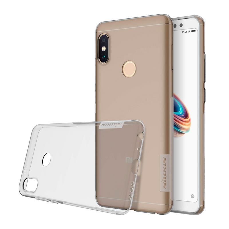 Силиконовая накладка Nillkin для Xiaomi Redmi Note 5 Grey