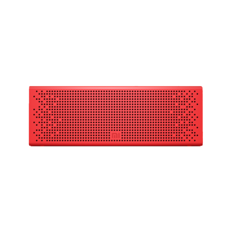 Акустическая стерео система беспроводная Mi Bluetooth Speaker Red new safurance 200w 12v loud speaker car horn siren warning alarm stainless steel home security safety