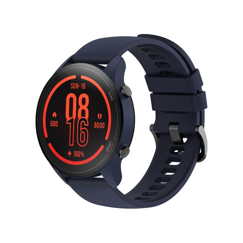 Умные часы Xiaomi Mi Watch (синий) наручные часы xiaomi twentyseventeen mechanical watch