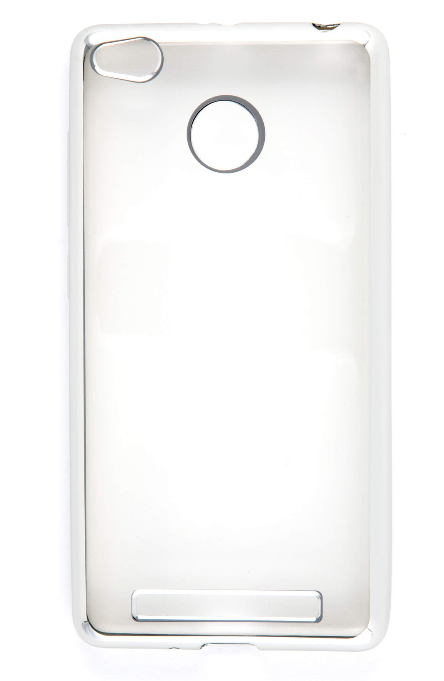 Накладка силикон iBox Blaze для Xiaomi Redmi 3/3s/3 Pro серебристый