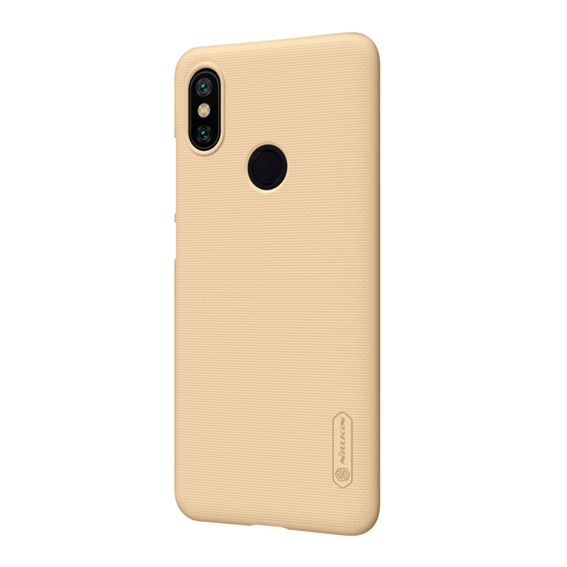 Защитный чехол Nillkin Super Frosted Shield для Xiaomi Mi A2 Gold чехол