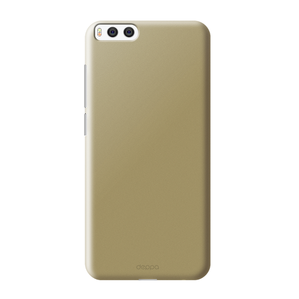 Чехол Air Case для Xiaomi Mi6, золотой, Deppa prototip xiaomi mi 6 pokazalsia na snimkah