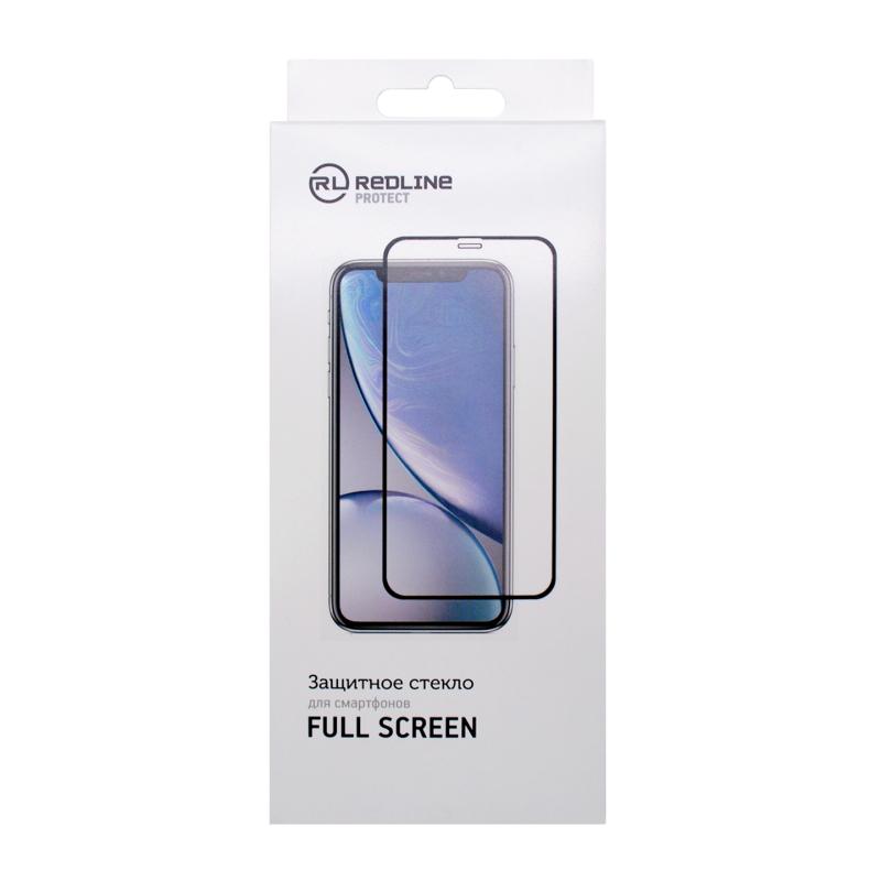 Защитное стекло Red Line Full Screen tempered glass FULL GLUE для POCO M3 Pro (черная рам