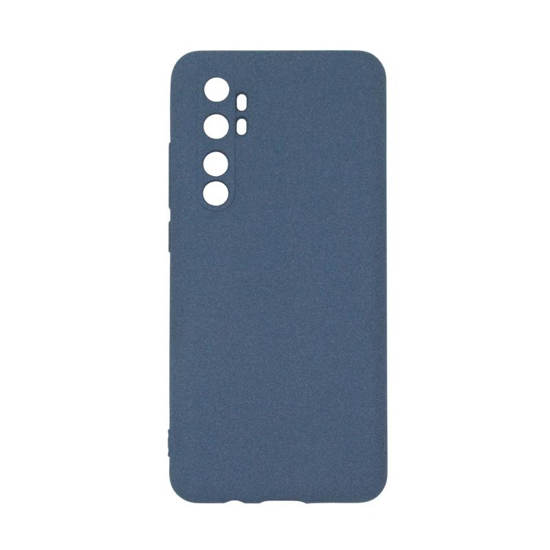 Fluff TPU Hard для Xiaomi Mi Note 10 Lite (синий)