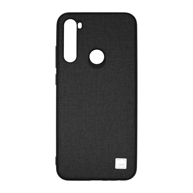 Uniq Glacier Luxe Kanvas для Xiaomi Redmi Note 8T (черный) фото