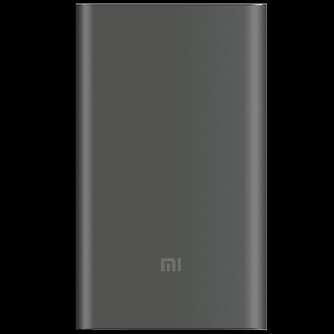 Внешний аккумулятор Mi Power Bank Pro 10000 мАч Grey внешний аккумулятор hiper power bank rp10000 black 10000 мач