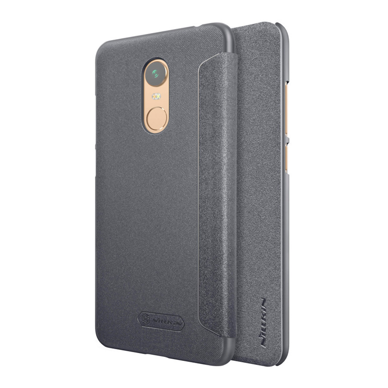 Чехол - книжка Nillkin Sparkle для Xiaomi Redmi 5 Plus Black nillkin sparkle leather case чехол для xiaomi redmi 4x black