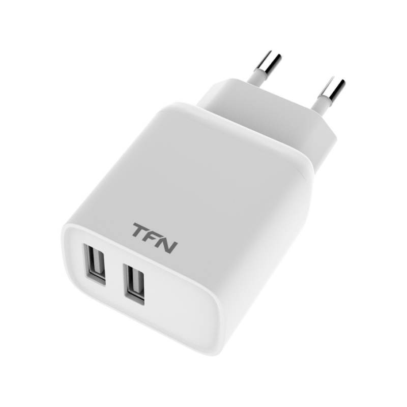 TFN Rapid+ 2USB 2.4A 12W (белый)