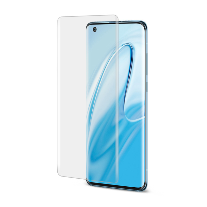 BLUEO 3D Full Cover HD + UV лампа для Xiaomi Mi 10