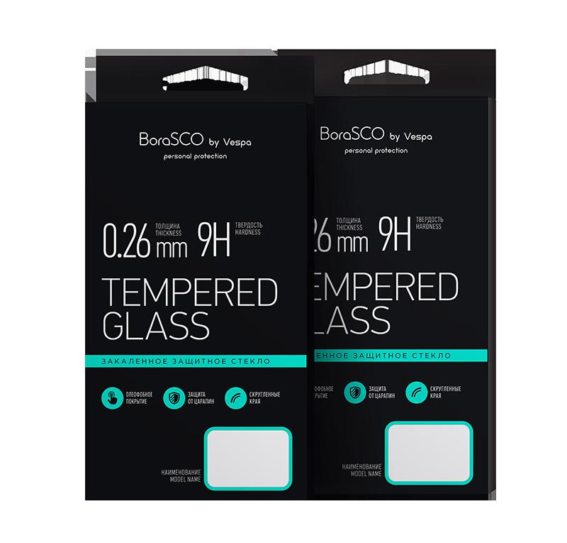 Защитное стекло для Redmi 8/8A BoraSCO Full Cover (черная рамка) аксессуар защитное стекло huawei p9 plus borasco full cover white