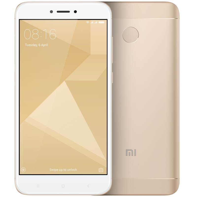 Redmi 4X 16GB Gold смартфон xiaomi redmi 5 2gb 16gb gold