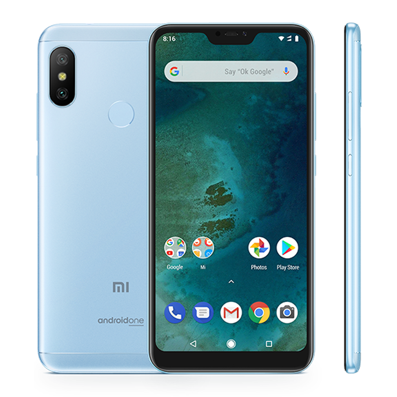 Mi A2 Lite 4/64 Blue смартфон xiaomi mi a2 4 64gb черный
