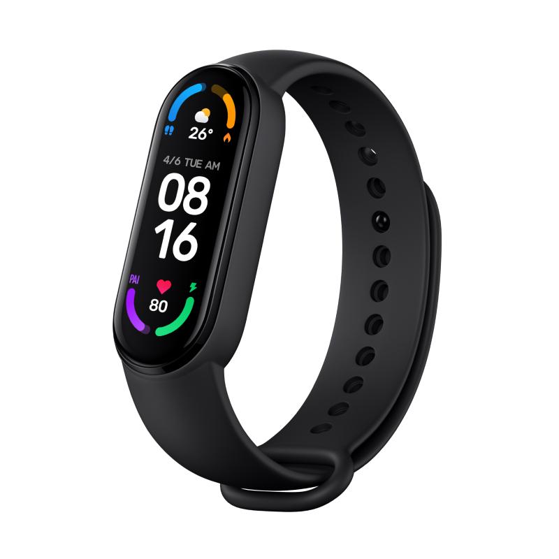 Фитнес-браслет Xiaomi Mi Smart Band 6 (черный)