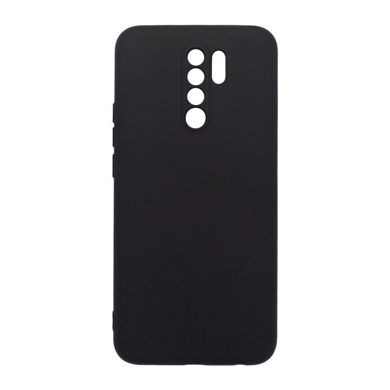 Фото - Чехол BoraSCO для Redmi 9 Microfiber Case (черный) чехол borasco microfiber case для xiaomi redmi 9a черный