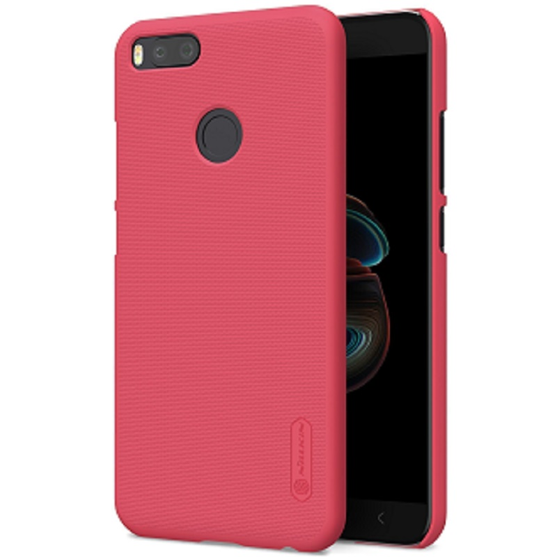 Чехол Nillkin Super Frosted Shield для Xiaomi Mi A1 Red цена и фото