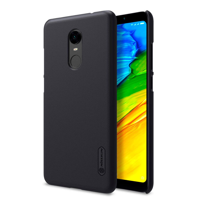 Чехол Nillkin Super Frosted Shield для Xiaomi Redmi 5 Plus Black чехол клип кейс nillkin super frosted для xiaomi redmi 4a черный