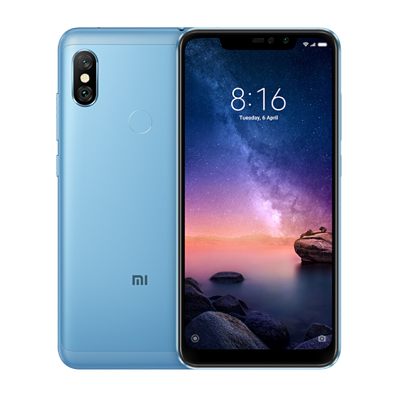 Redmi Note 6 Pro 3/32GB Blue смартфон xiaomi redmi 6 3 32gb blue