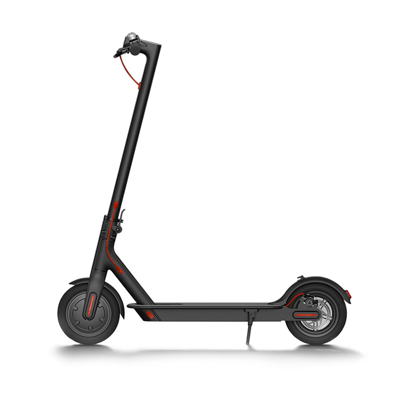 MiJia Electric Scooter Black megawheels tw01s self balancing electric scooter white