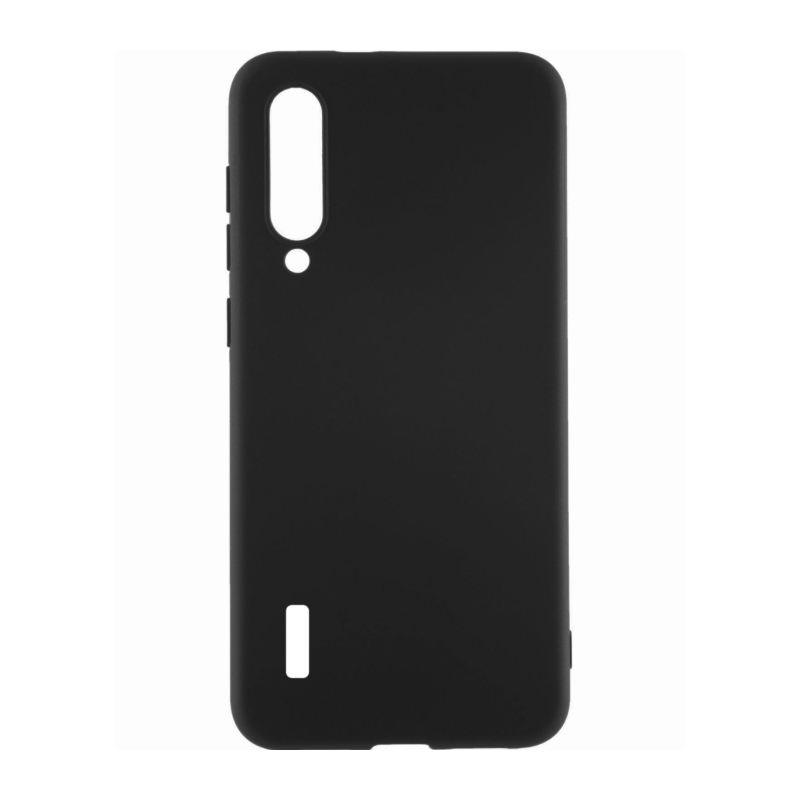 Fluff TPU Hard для Xiaomi Mi 9 Lite (черный)