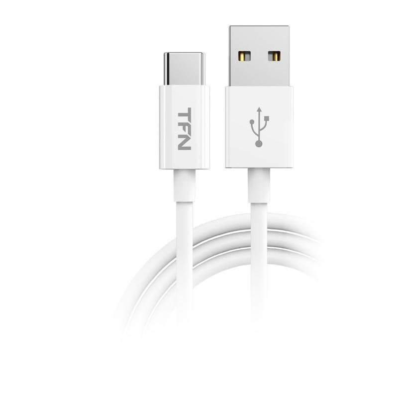 Кабель TFN TPE USB Type-C 1.0 m (белый) кабель tfn forza usb type c 1 0 m красный