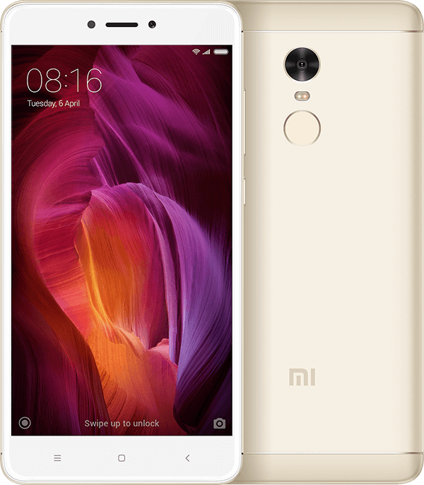 Redmi Note 4 4+64GB Gold смартфон xiaomi redmi note 6 pro 4 64gb blue