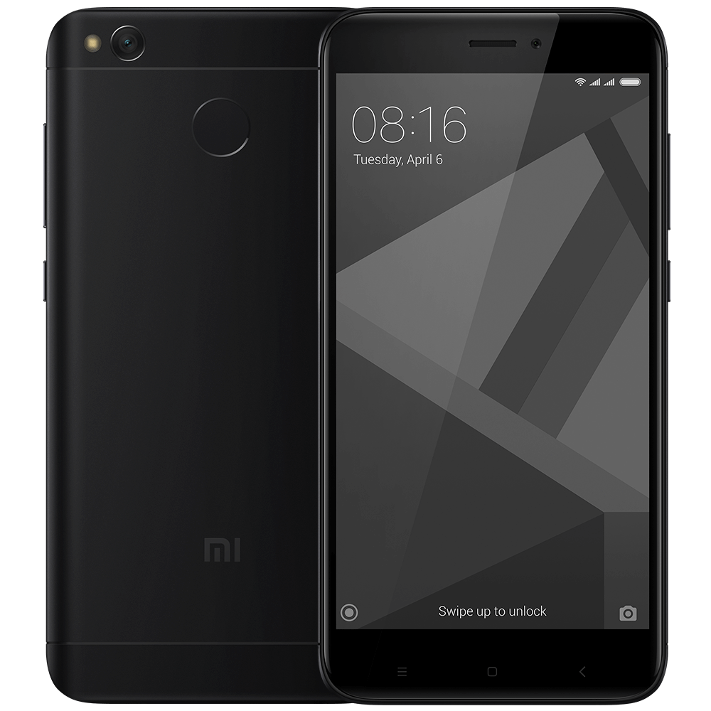 Redmi 4X 16GB Black смартфон xiaomi redmi 4x 32gb 3gb gold