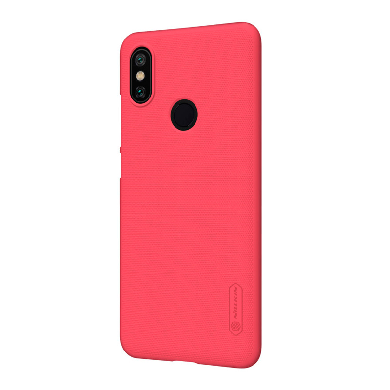 Защитный чехол Nillkin Super Frosted Shield для Xiaomi  A2 Red