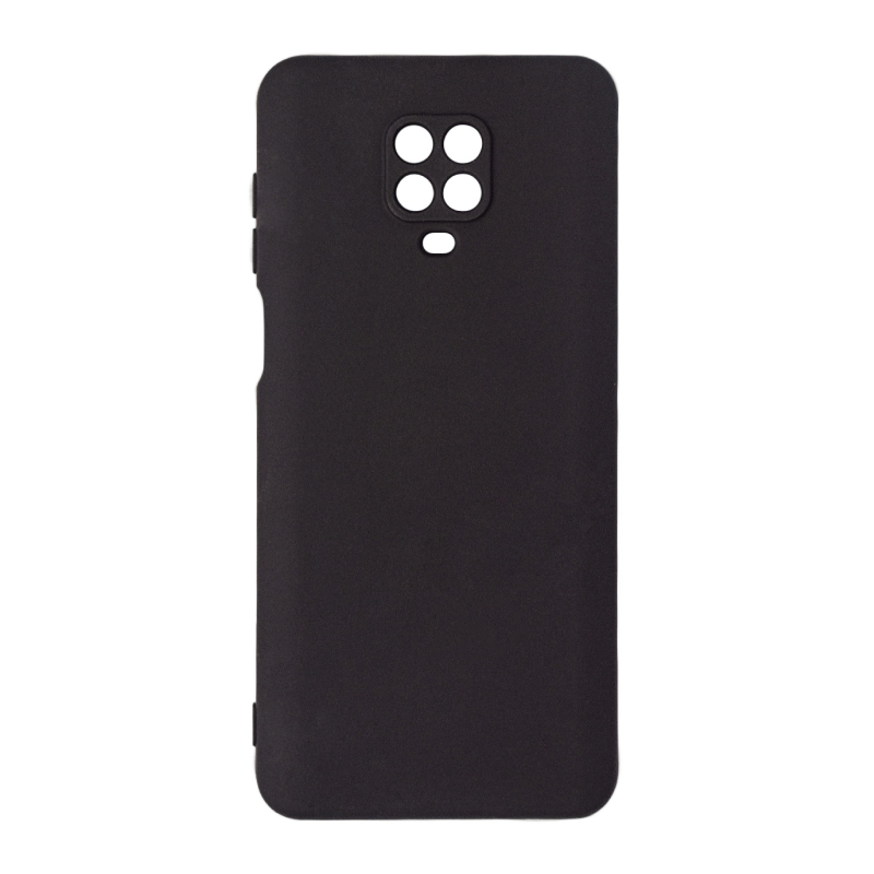 для Xiaomi Redmi Note 9 Pro/9S Microfiber Case (черный)