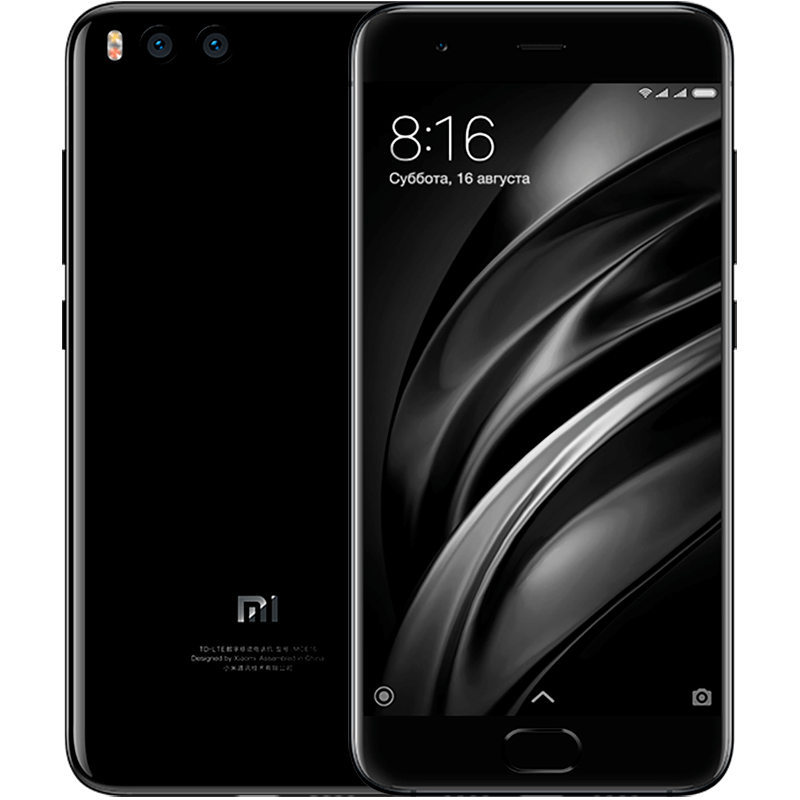 Mi 6 64GB Black xiaomi mi 5 mi 5 32 gb white