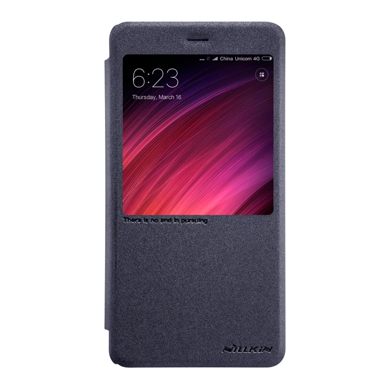 Чехол - книжка Nillkin Sparkle для Xiaomi Redmi Note 4 Black redmi note 4 4 64gb black
