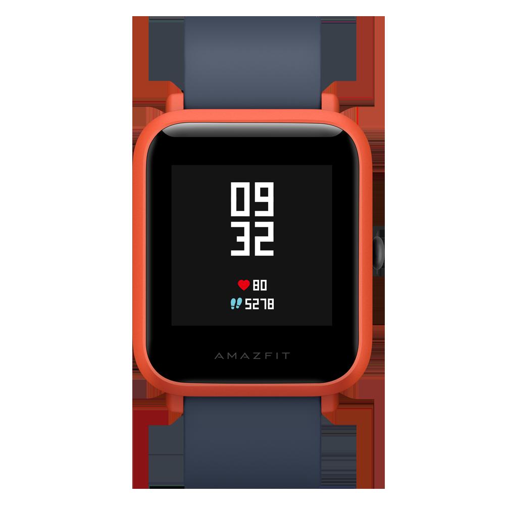 Amazfit Bip Red смарт часы xiaomi amazfit bip 1 28 оранжевый синий [uyg4022rt]