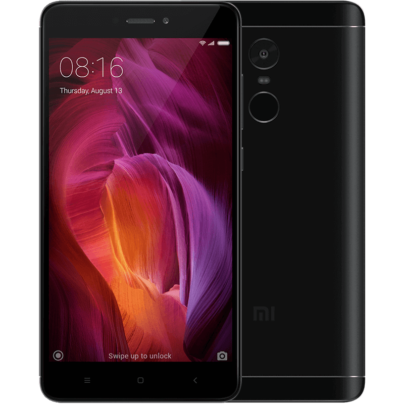 Redmi Note 4 4+64GB Black official gloabl rom xiaomi redmi note 4x 4g 64gb smartphone black