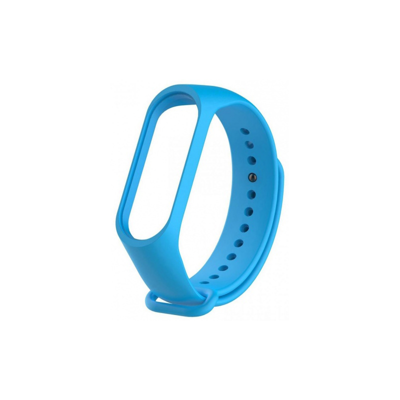 Силиконовый ремешок для Xiaomi Mi Band 3 Untamo Light blue wle3318 sea horse style led blue light keychain pink 3 x ag3