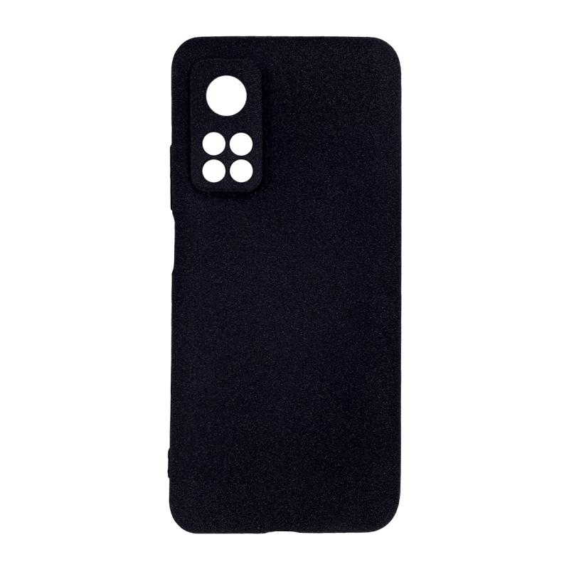 Fluff TPU Hard для Xiaomi Mi 10T/Mi 10T Pro (черный)