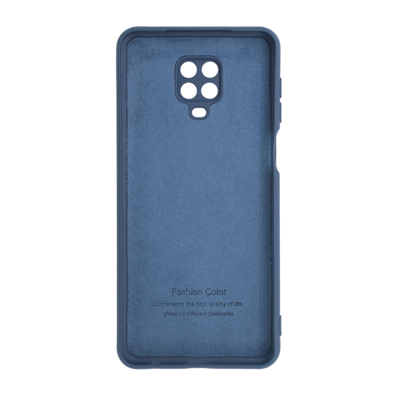 для Xiaomi Redmi Note 9 Pro/9S Microfiber Case (синий) фото 2