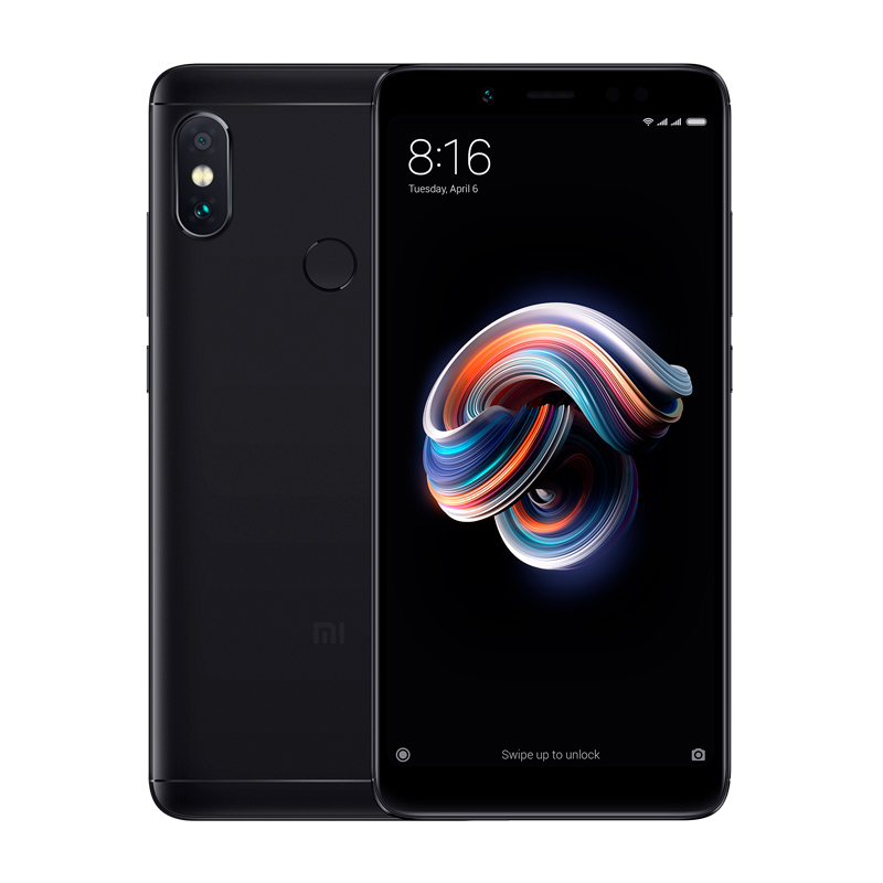 Redmi Note 5 4/64 Black смартфон xiaomi redmi 5 plus 64gb black