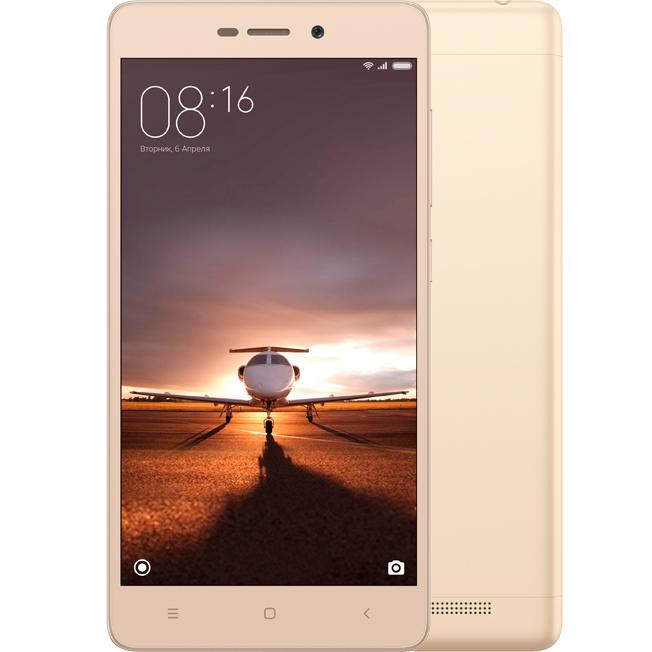 Redmi 3 Pro 32GB Gold аксессуар чехол xiaomi redmi note 3 pro zibelino ultra thin case white zutc xmi rdm not3 pro wht