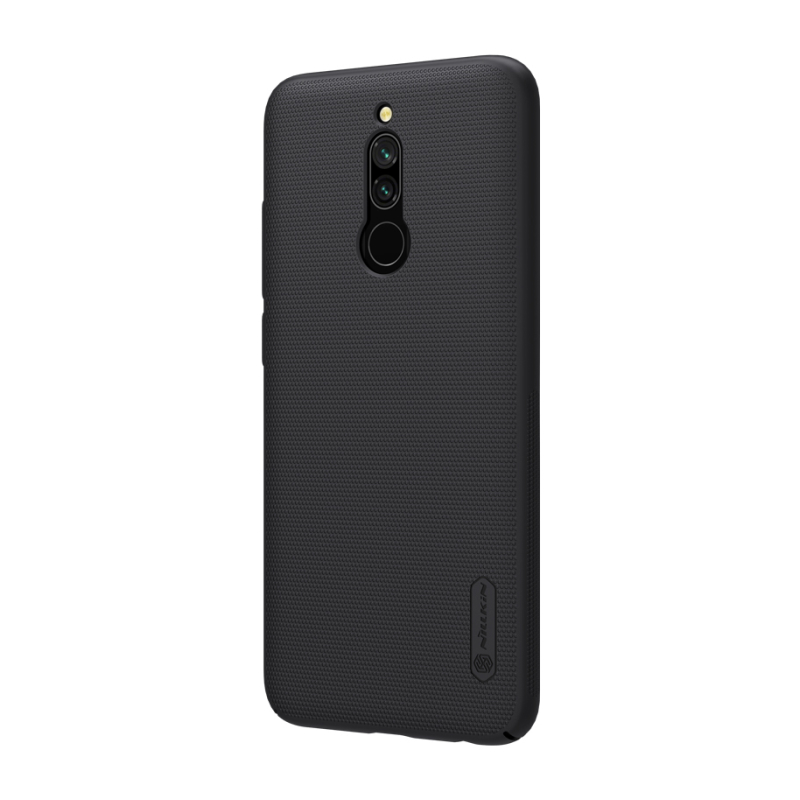 Super Frosted Shield для Xiaomi Redmi 8 (черный) бампер nillkin super frosted shield для redmi note 8 pro синий