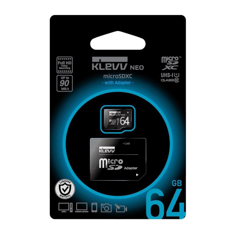 KLEVV microSDHC NEOv2 64GB CL10 U1 + адаптер