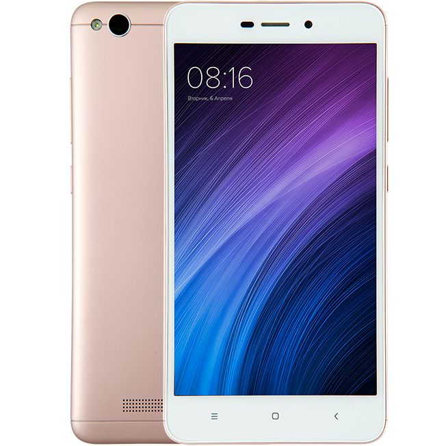 Redmi 4A 16GB Rose Gold смартфон xiaomi redmi 4a 16gb gray