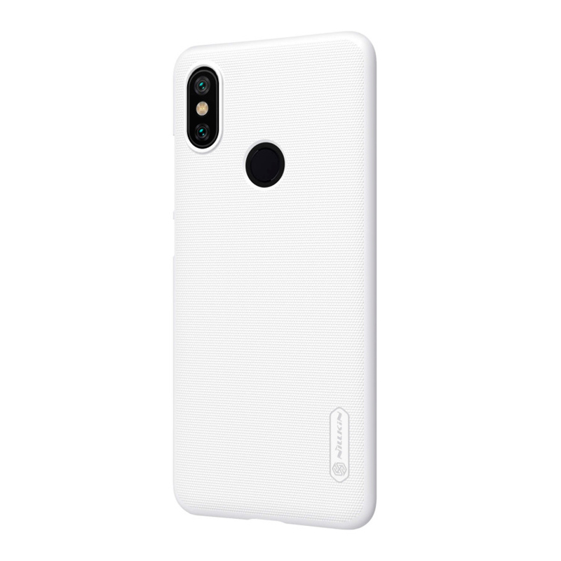 Защитный чехол Nillkin Super Frosted Shield для Xiaomi Mi A2 White защитный чехол nillkin super frosted shield для xiaomi mi a2 white