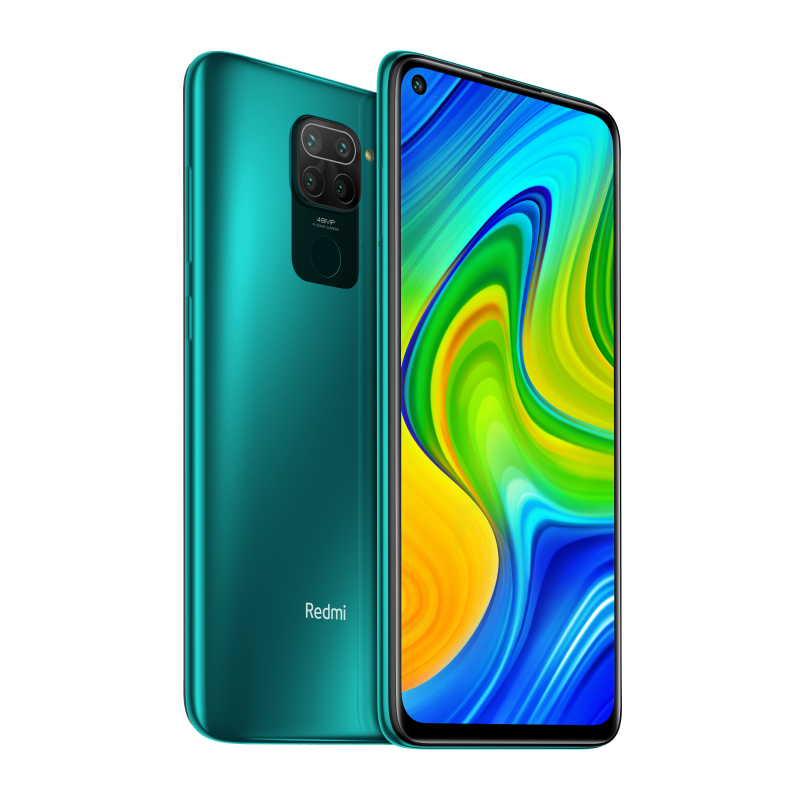 Redmi Note 9 3/64GB (зеленый)