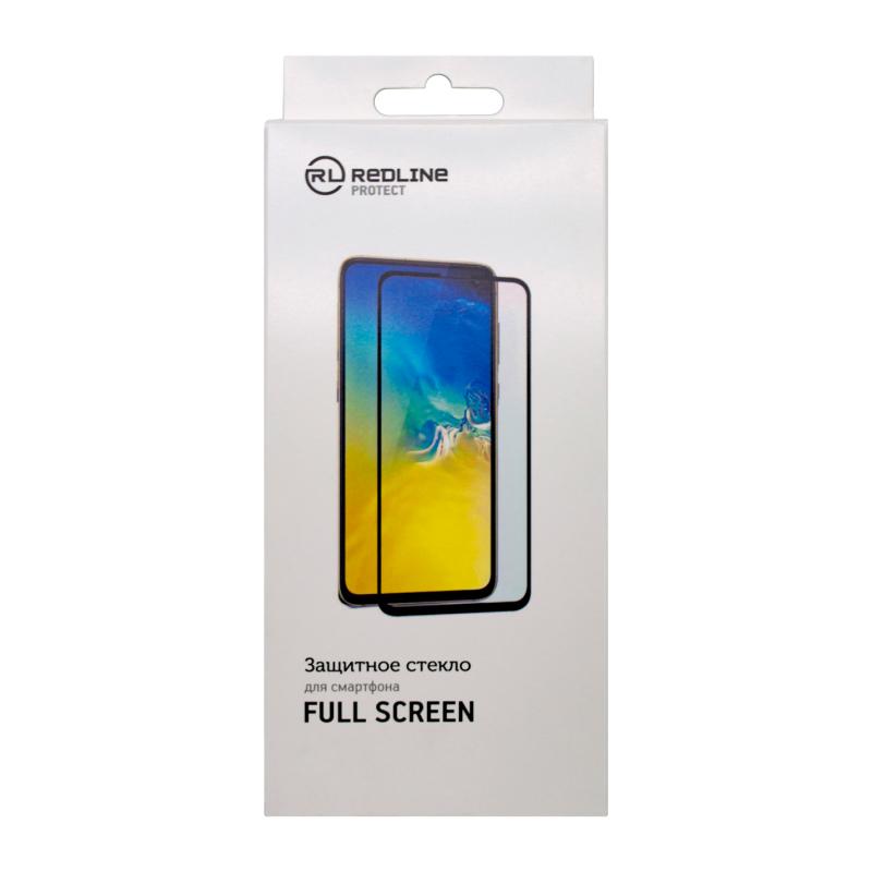 Защитное стекло Red Line Full Screen tempered glass FULL GLUE для Xiaomi Redmi Note 8 (черная рамка)