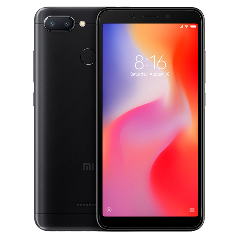 Redmi 6 4/64 Black цена
